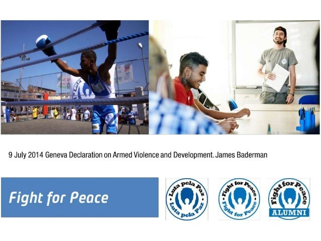 James Baderman, Fight for Peace (UK)