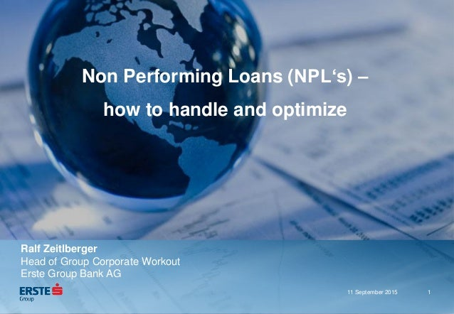 Thesis on non performing loans