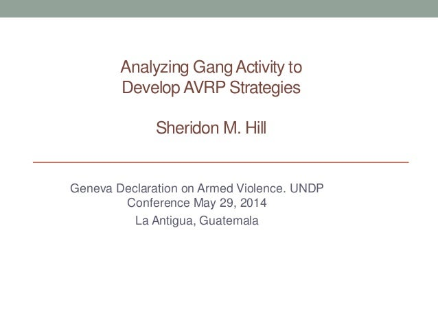 Sheridon Hill, North Coast Empowerment Group (Trinidad and Tobago)