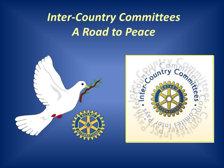 Inter-Country Committees     A Road to Peace