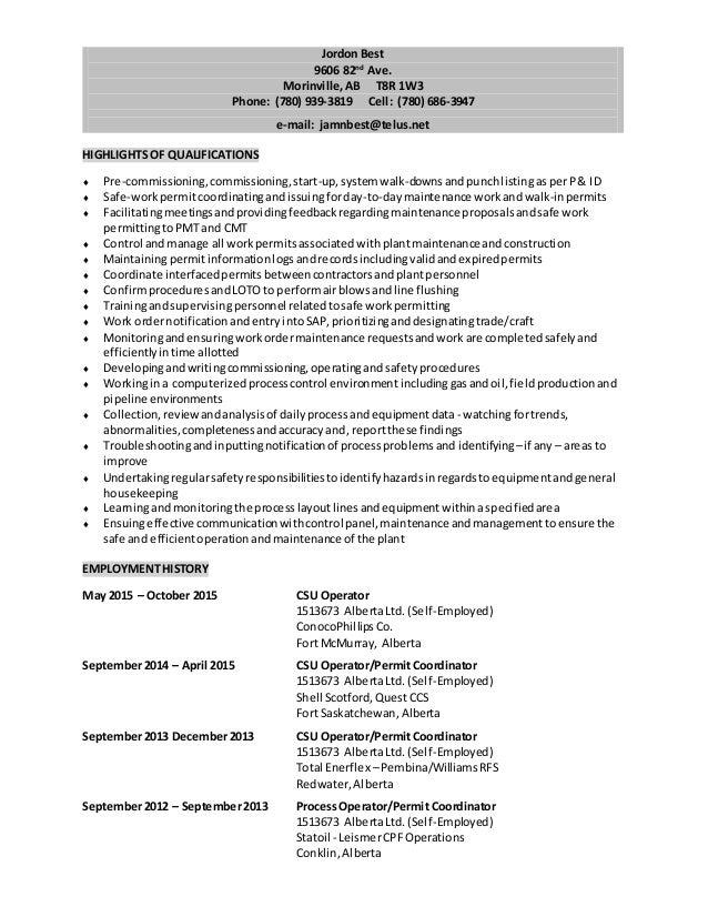 resume class