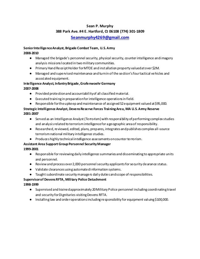Intelligence Analyst Cover Letter. 89 surprising what to write in a ...