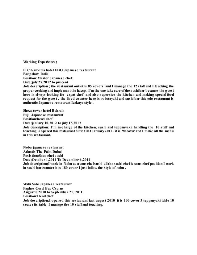 Resume Samples  Resume Writing Center