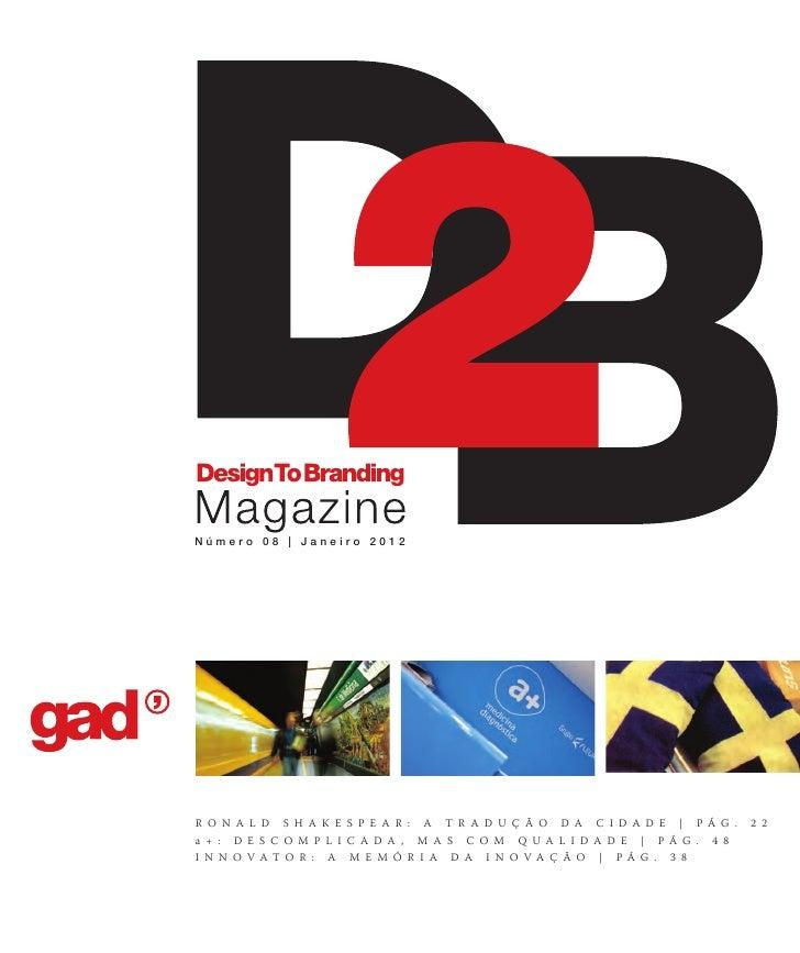 Revista D2B - Edição 08 (jan2012)