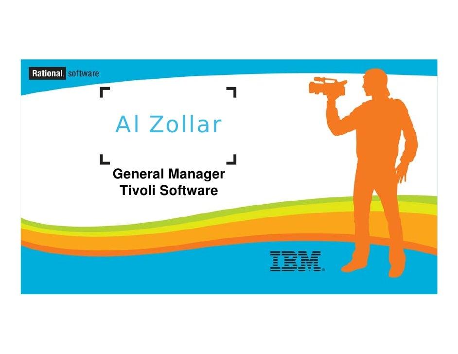 IBM Rational Software Conference 2009 Day 2 Keynote: Al Zollar