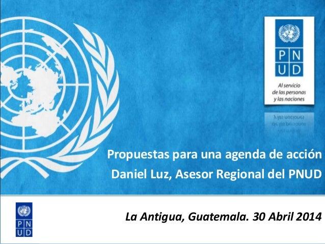 Daniel Luz - UNDP Regional Center for Latin America and Caribbean (RCLAC) | Panama