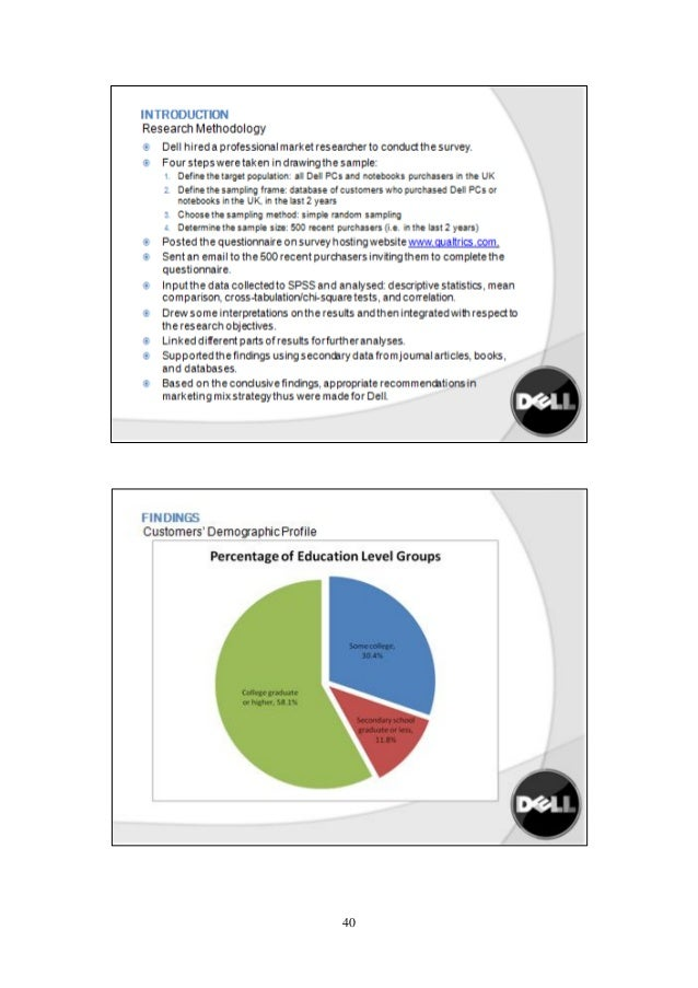 Dell's Marketing Strategy - SlideShare