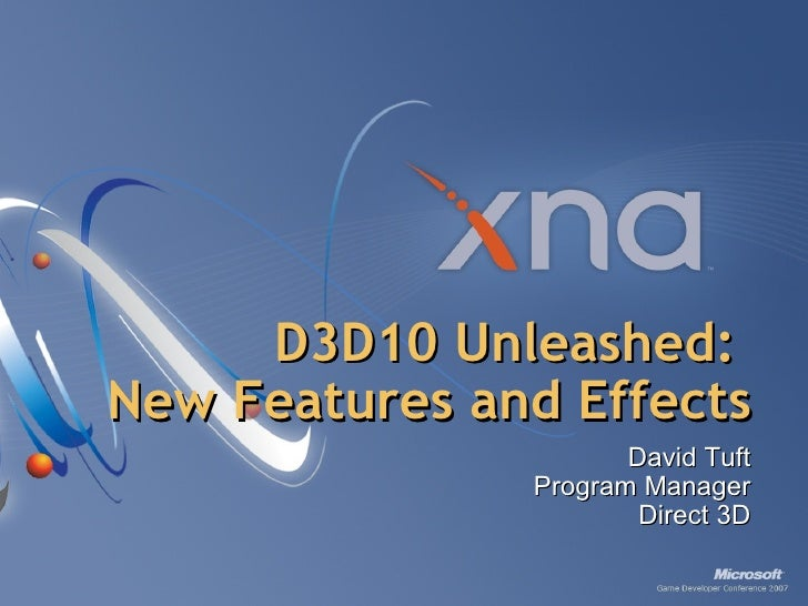 D3 D10 Unleashed   New Features And Effects
