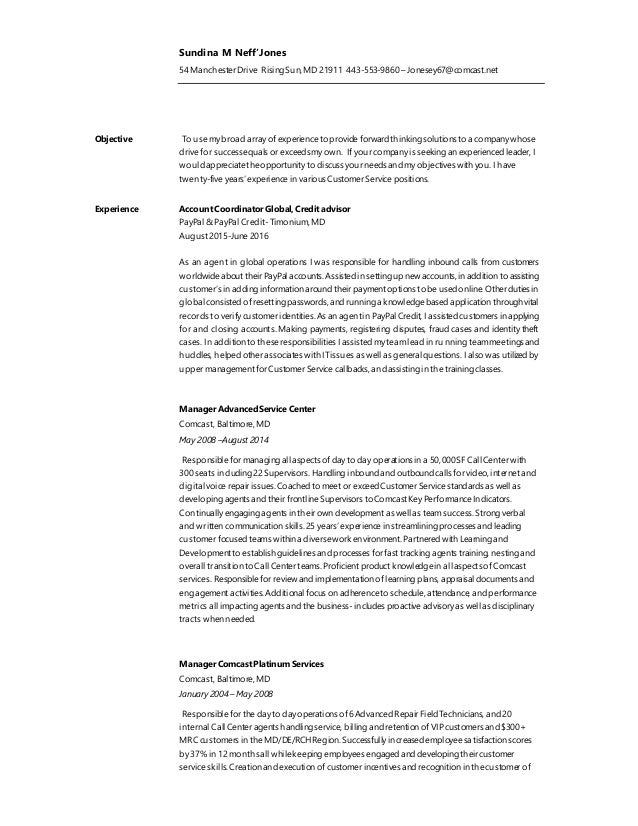 sundina m neff jones resume november 2016