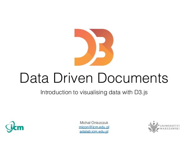 Data driven documents D3