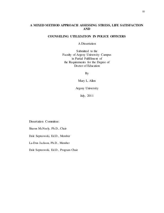 Dissertation Published Unpublished