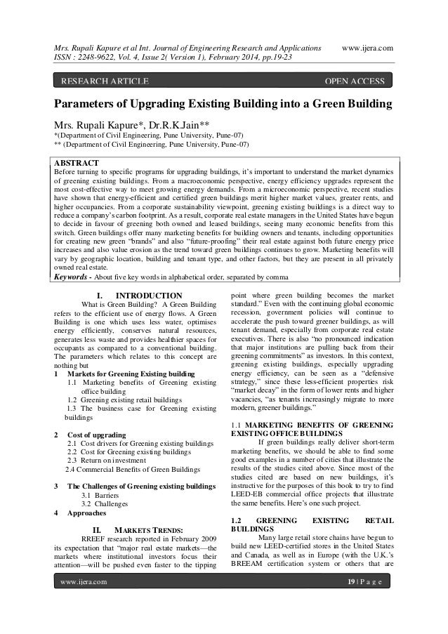 Mrs. Rupali Kapure et al Int. Journal of Engineering Research and Applications ISSN : 2248-9622, Vol. 4, Issue 2( Version ...