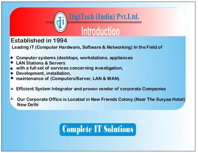 Digitech Profile