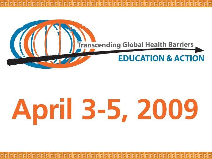 Global Health Informatics: Novel Approaches & Applications: Walter Curioso