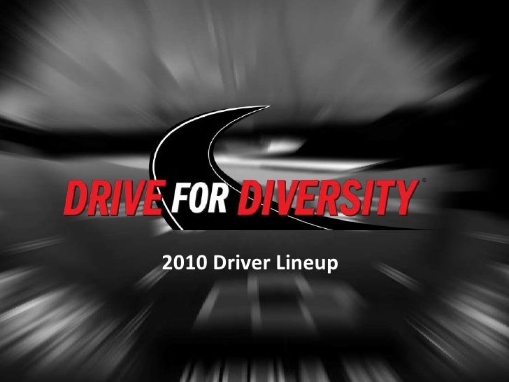 2010 Driver Lineup<br />