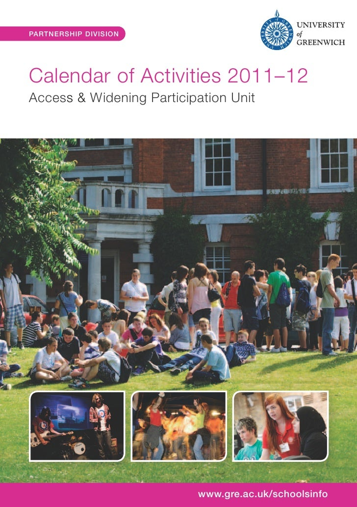 Greenwich University Activities