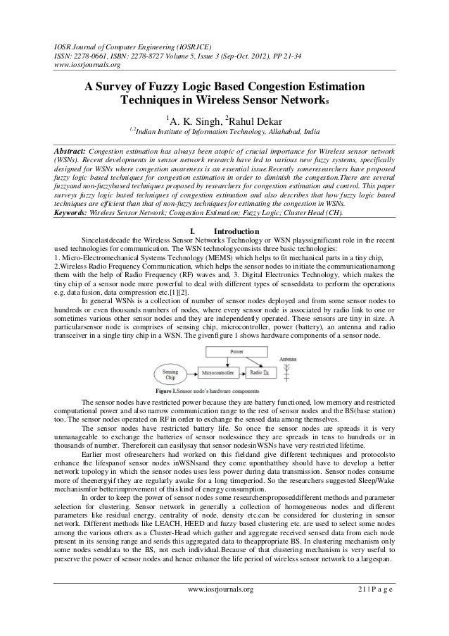 IOSR Journal of Computer Engineering (IOSRJCE) ISSN: 2278-0661, ISBN: 2278-8727 Volume 5, Issue 3 (Sep-Oct. 2012), PP 21-3...