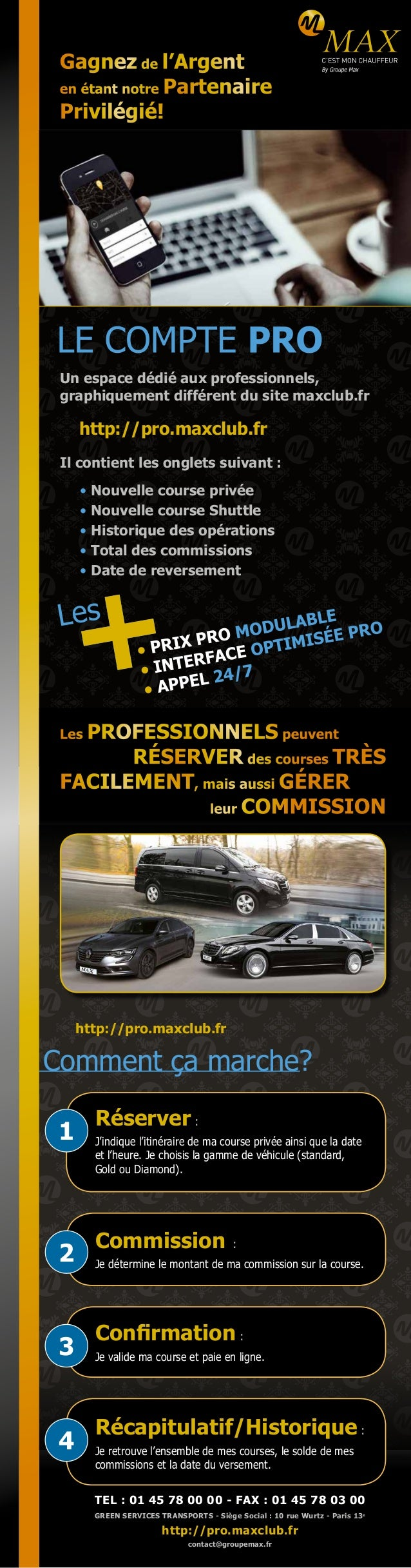 http://pro.maxclub.fr Gagnez de l'Argent en étant notre Partenaire Privilégié! Un espace dédié aux professionnels, graphiq...