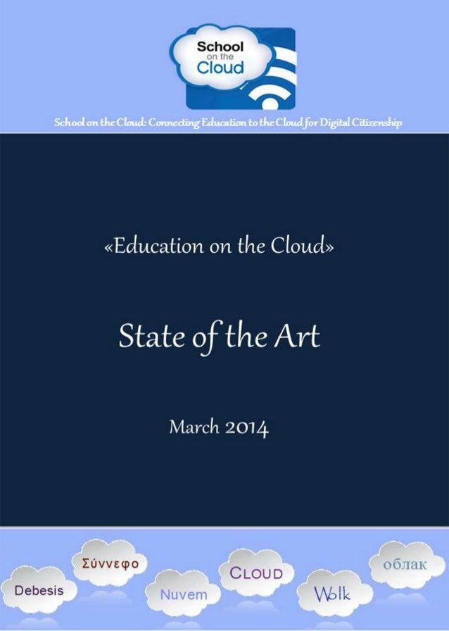 School on the Cloud Network (543221 – LLP – 1 – 2013 – 1 – GR - KA3 - KA3NW) an ICT Key Action 3 European Project D6.4 Edu...