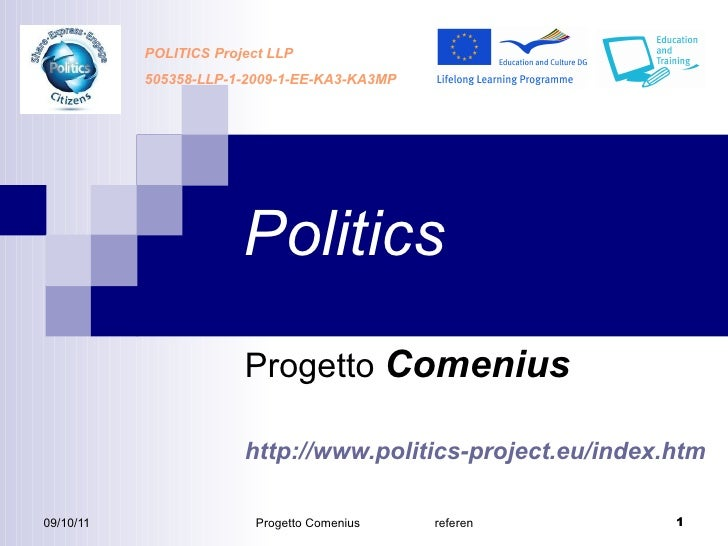D6.2.1 politics presentation to schools and politicians