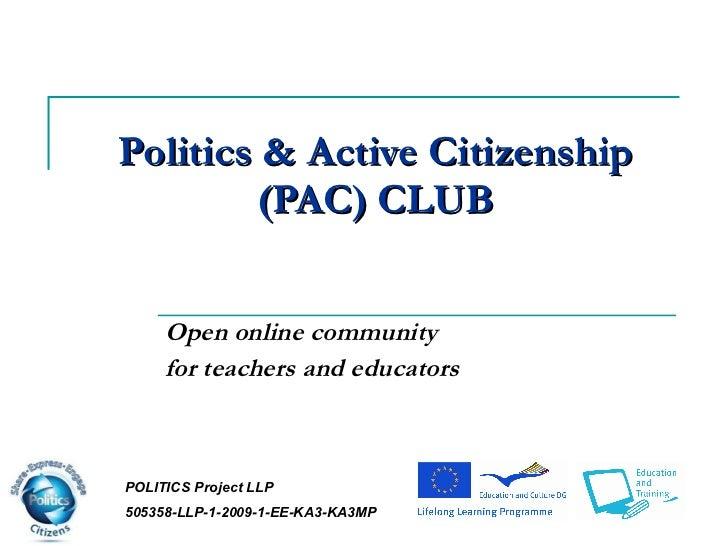 D6.2.2 pac politics affiliation club erasmo