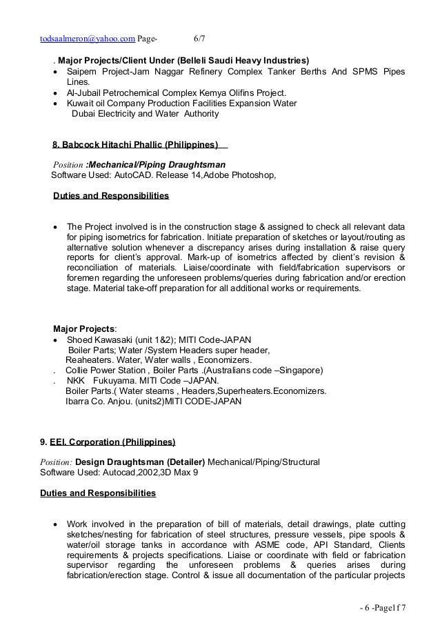 Superb Piping Engineer Cover Letter