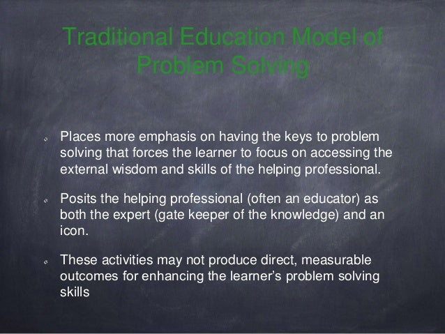 Problem solving education