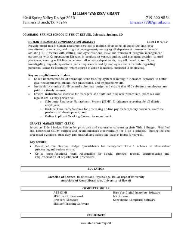 Family Nurse Practitioner Resume Examples Grant Analyst Cover