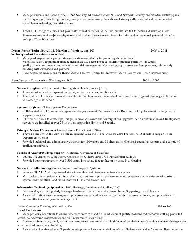 ccna resume format