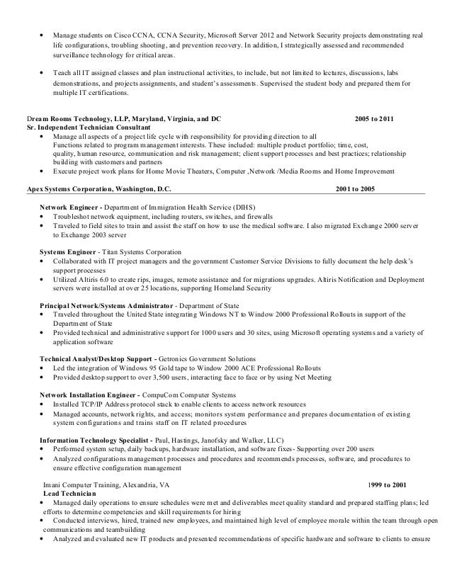 unforgettable computer repair technician resume examples to stand pinterest - Network Administrators Resume