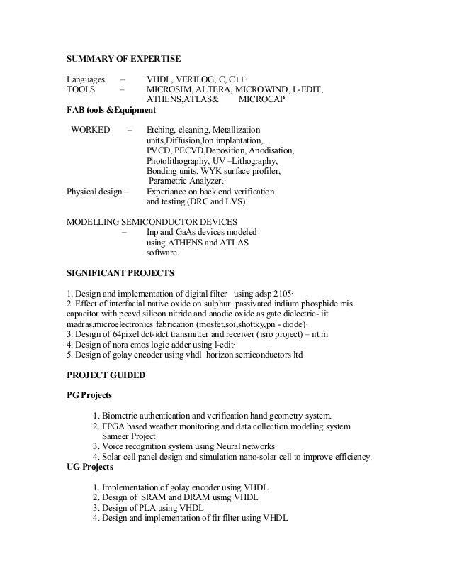 dre n ganesh recent resume