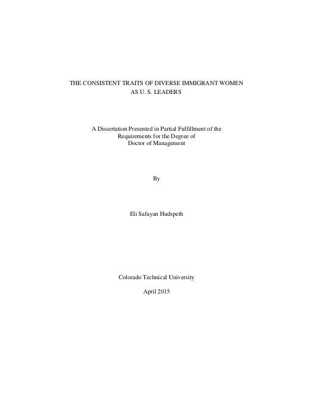 Published dissertation on education