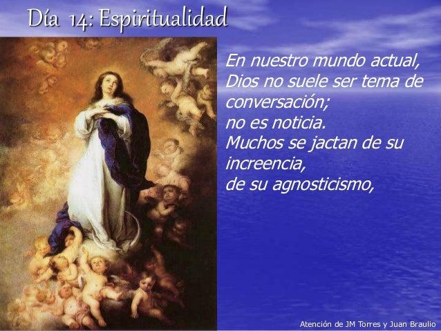 Día 14 - Espiritualidad