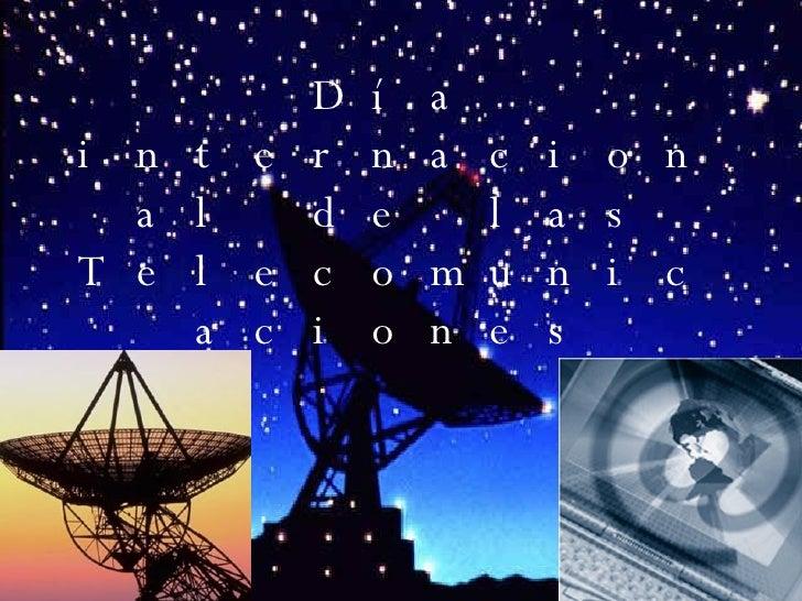 Día internacional de las Telecomunicaciones