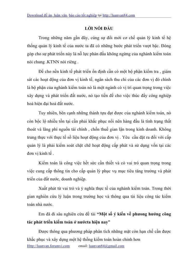 Download đề án, luận văn, báo cáo tốt nghiệp tại http://luanvan84.com                                    LỜI NÓI ĐẦU      ...