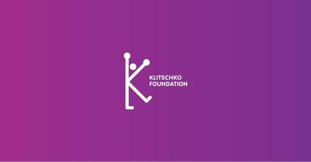 Klitschko Foundation 2003 gründeten die Boxweltmeister Vitali und Wladimir Klitschko ihre Klitschko Foundation, nachdem si...