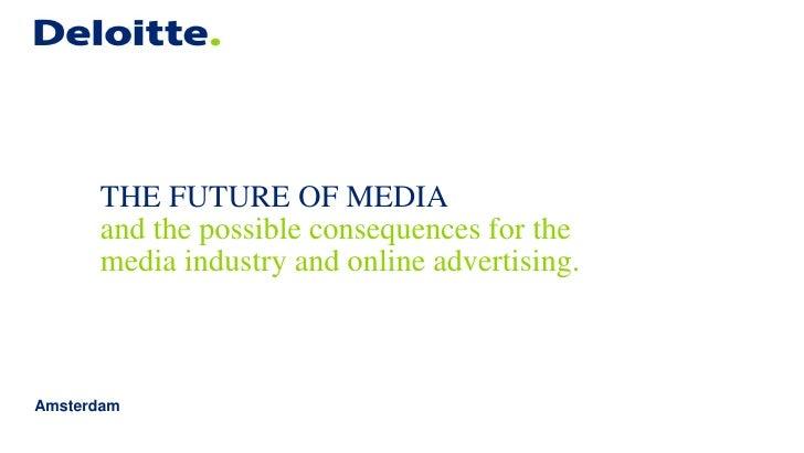 Daan Witteveen - The future of Media #ATSNL