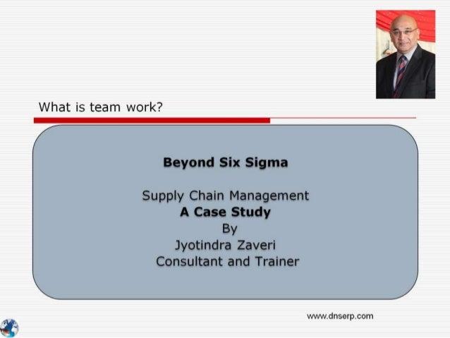 Beyond six Sigma - How to - Team Work - Dabbawala