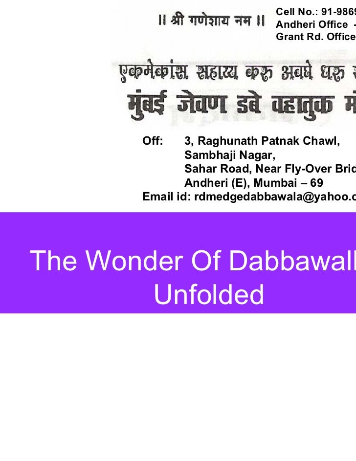 Dabbawallas