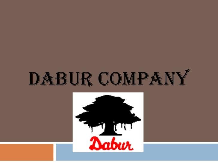 Dabur company  ppt  MBA MARKETING