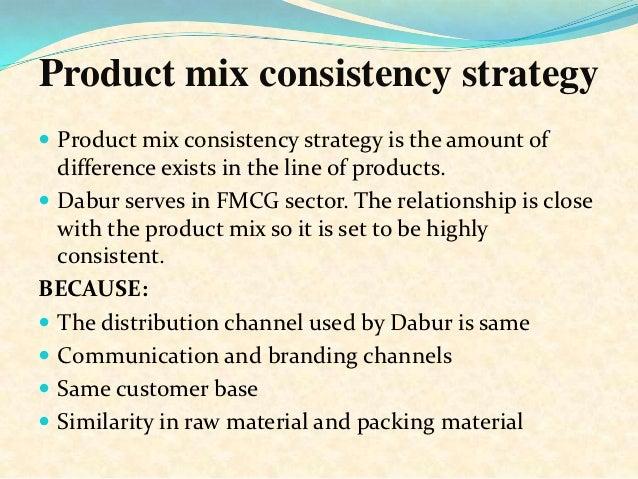 product mix of dabur Dabur product mix created by sahrudayan nk kicma college, neyyardam ,trivandrum mba (2015-17).