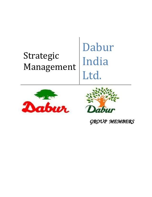 DaburStrategicManagement   India             Ltd.              GROUP MEMBERS
