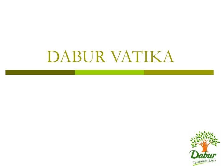 DABUR VATIKA