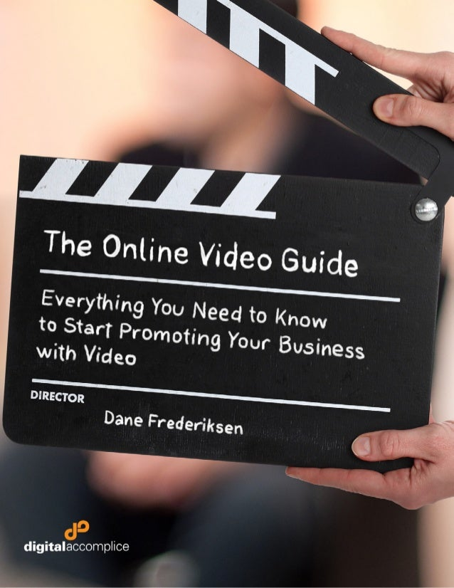 Digital Accomplice's Online Video Guide