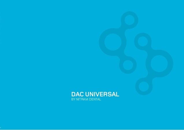 1NITRAM DENTAL DAC Universal by Nitram Dental