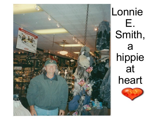 Lonnie   E. Smith,    a hippie   at heart