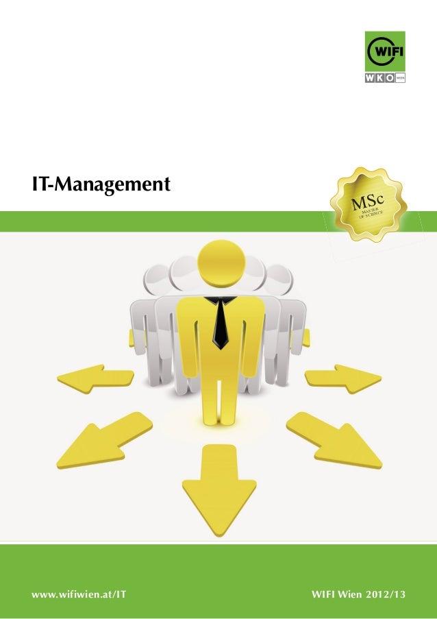 IT-Management WIFI Wien 2012/13www.wifiwien.at/IT MAMAAMAMAMAMMMAMAMAAMMAMAMMAMM STSTSTSTSTTSTSTSTERERERERERERERE OFOFOFOF...