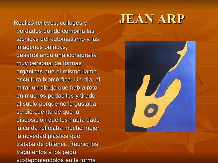 Jean Arp obra pez y bigote