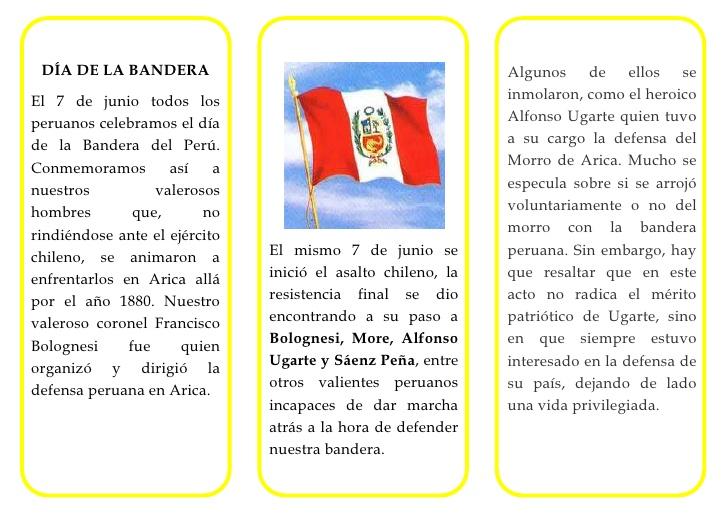 Periodico Mural De Fiestas Patrias Peru | newhairstylesformen2014.com