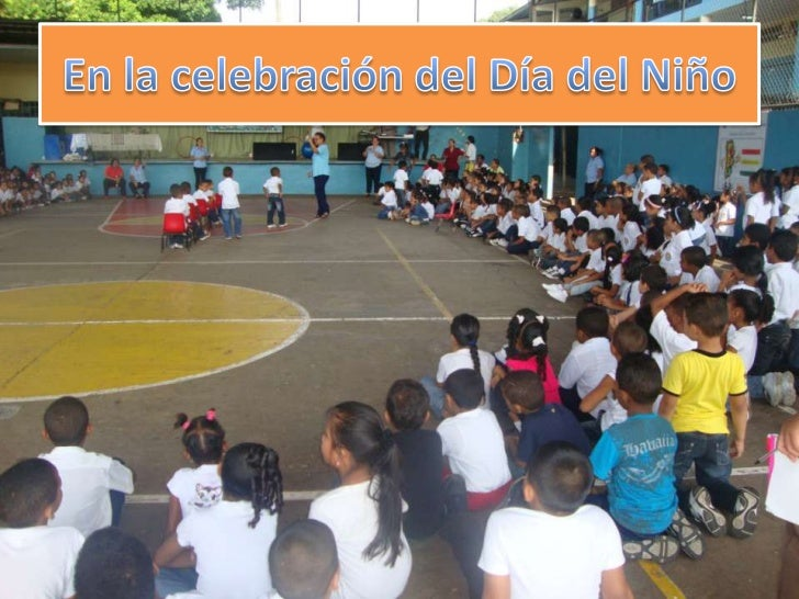 En la celebración del Día del Niño <br />